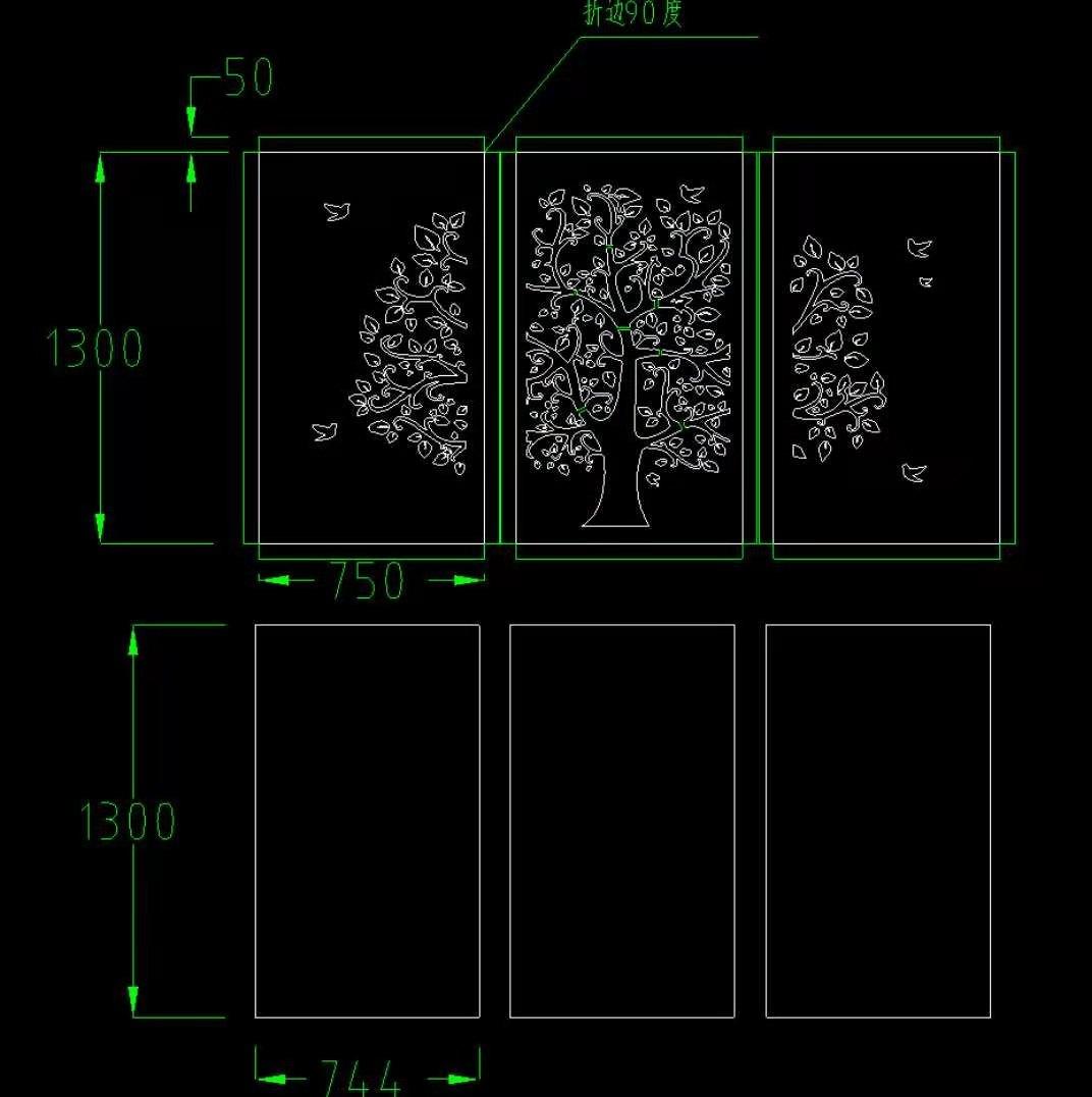 万博手机客户端安卓版钢灯箱图纸jpg